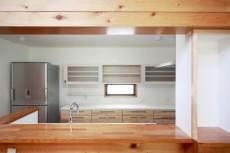 杉のキッチン