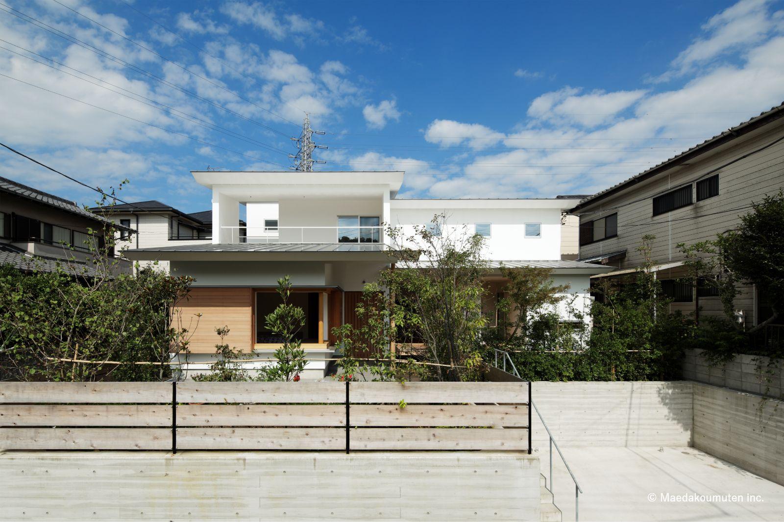 神奈川、工務店、注文住宅、デザイン住宅、建築家、夕日の家、01